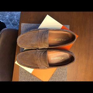 b6e3c0da0f8 New Republic by Mark McNairy Shoes - New Republic Barclay Suede Driver